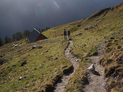 randonnée en montagne de l'isère, près de nos chambres d'hôtes