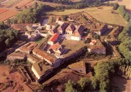 Vue sur le Fort Barraux, construction en étoile