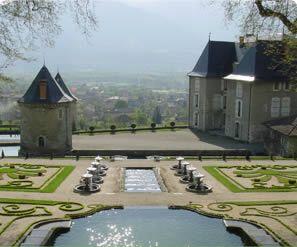 Le Château du Touvet. Isère