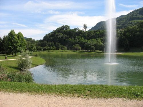 Lac de la Mirande(Allevard-les-bains), swimming 1.5 miles from your guest room