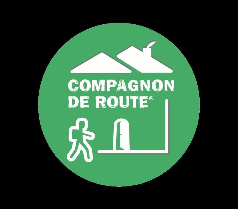 Nos chambres d'hôtes Au Vieux Four à Pain sont Compagnon de Route pour la Fédération Française de Randonnée Isère