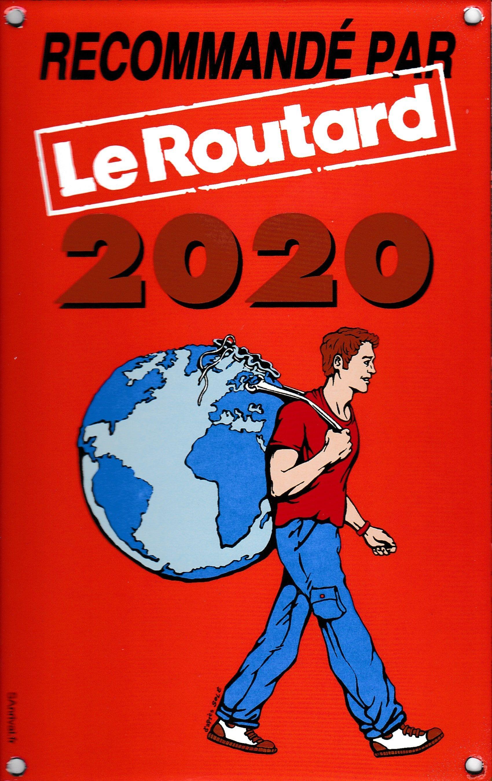 Nos chambres d'hôtes-Gîte Au Vieux Four à Pain sont recommandées par le Guide du Routard 2020 Isère-Alpes du Sud